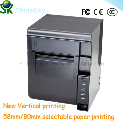 New POS 80mm Thermal Receipt Printer Vertical Printing (SK D300M)