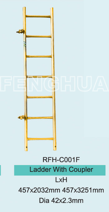 Ladder with Coupler