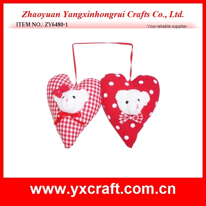 Valentine Decorations (ZY6480-1) Free Sample Love Bear Pillow Gift