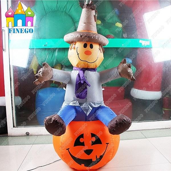 Halloween LED Spirit Festival Customized Inflatable Pumpkin Lamp Decoration