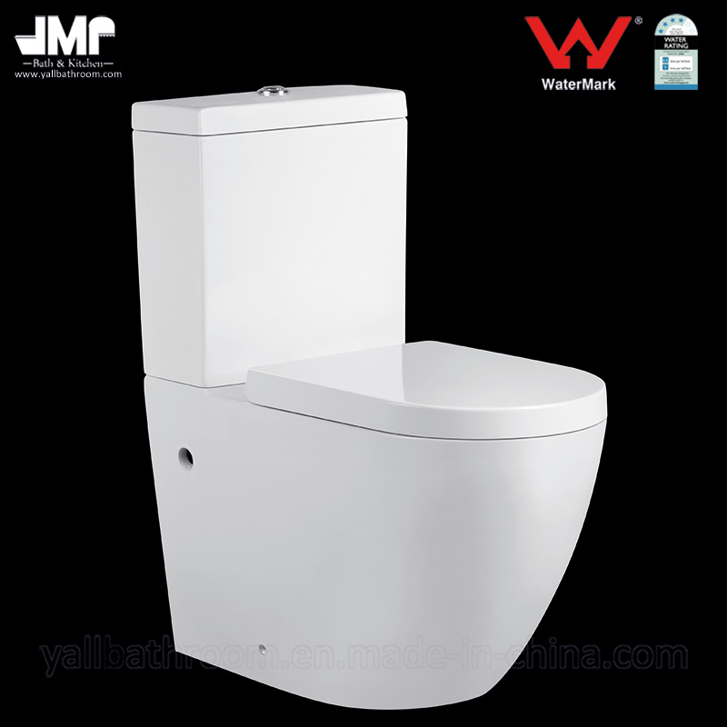 Australian Standard 3/4.5L Bathroom Wc Two Piece Ceramic Toilet