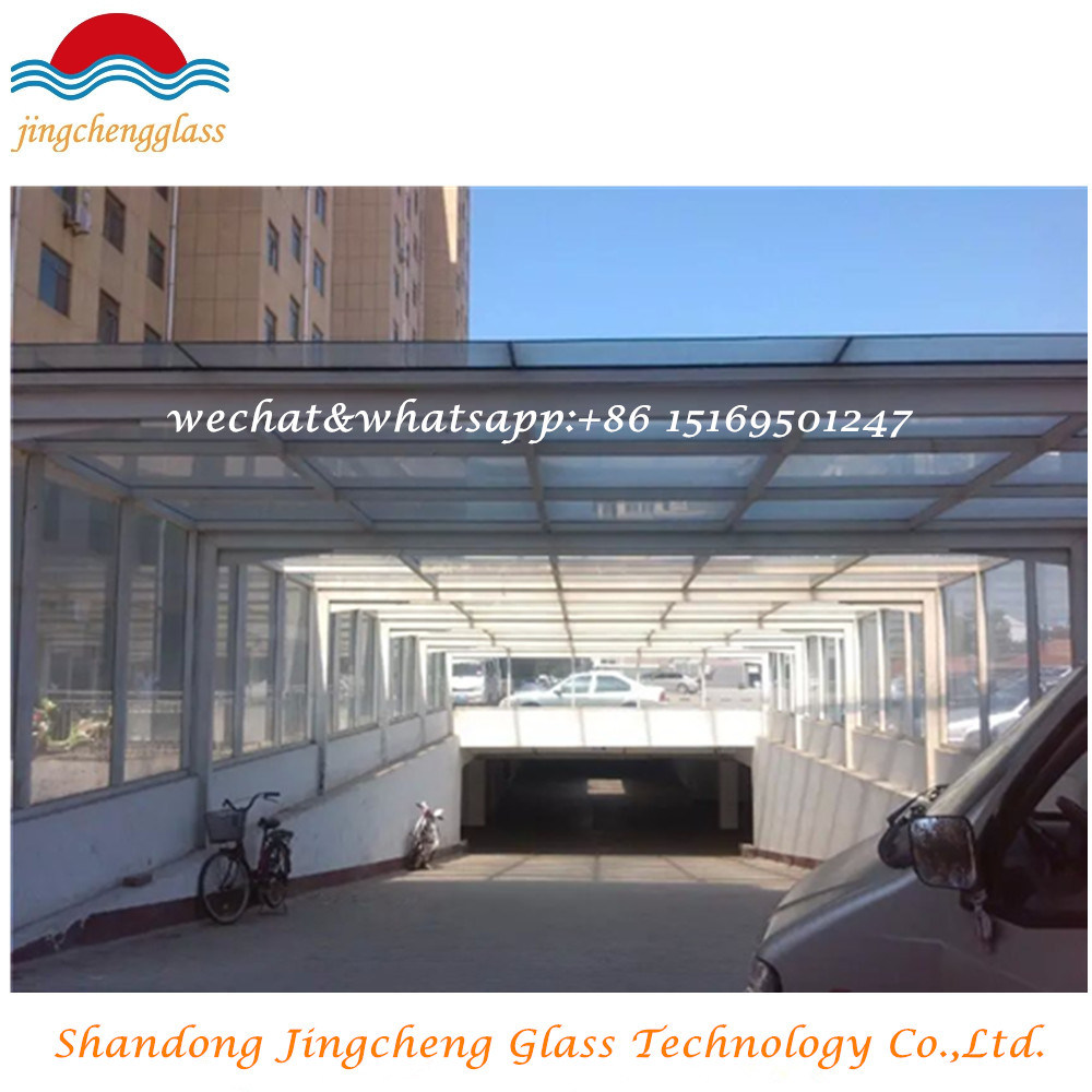 Colored Tempered Laminated Glass for Building