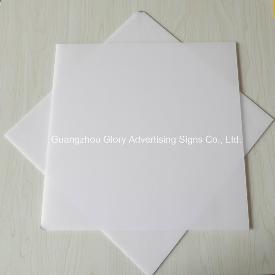 China Plastic Acrylic Led Light Pmma Milky White Diffuser
