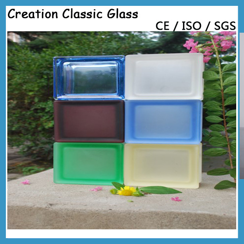 190*190*80mm Curv-End Glass Block for Decoration/Ce/CCC