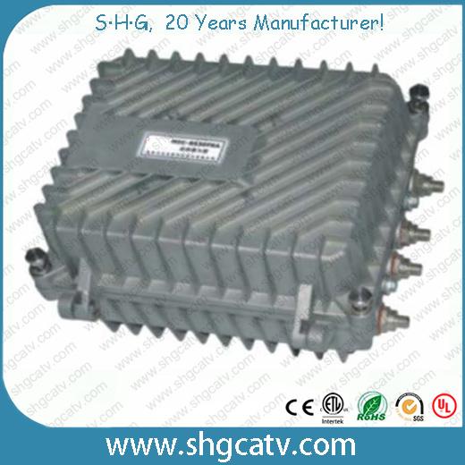 4 Ports Output CATV Bi-Directional Trunk Amplifier (HT-8530FRAN)