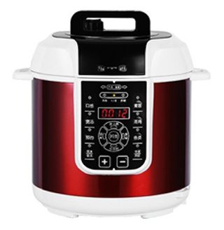 Wine Red Color Electric Pressure Cooker