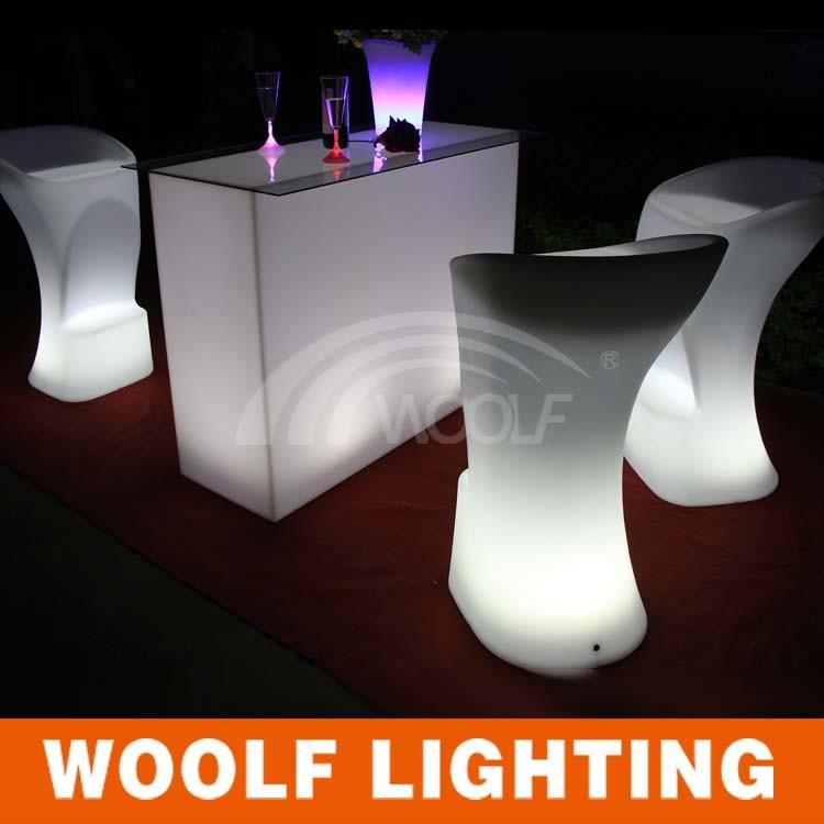 LED Furniture Nightclub Light Stool Bar Chair