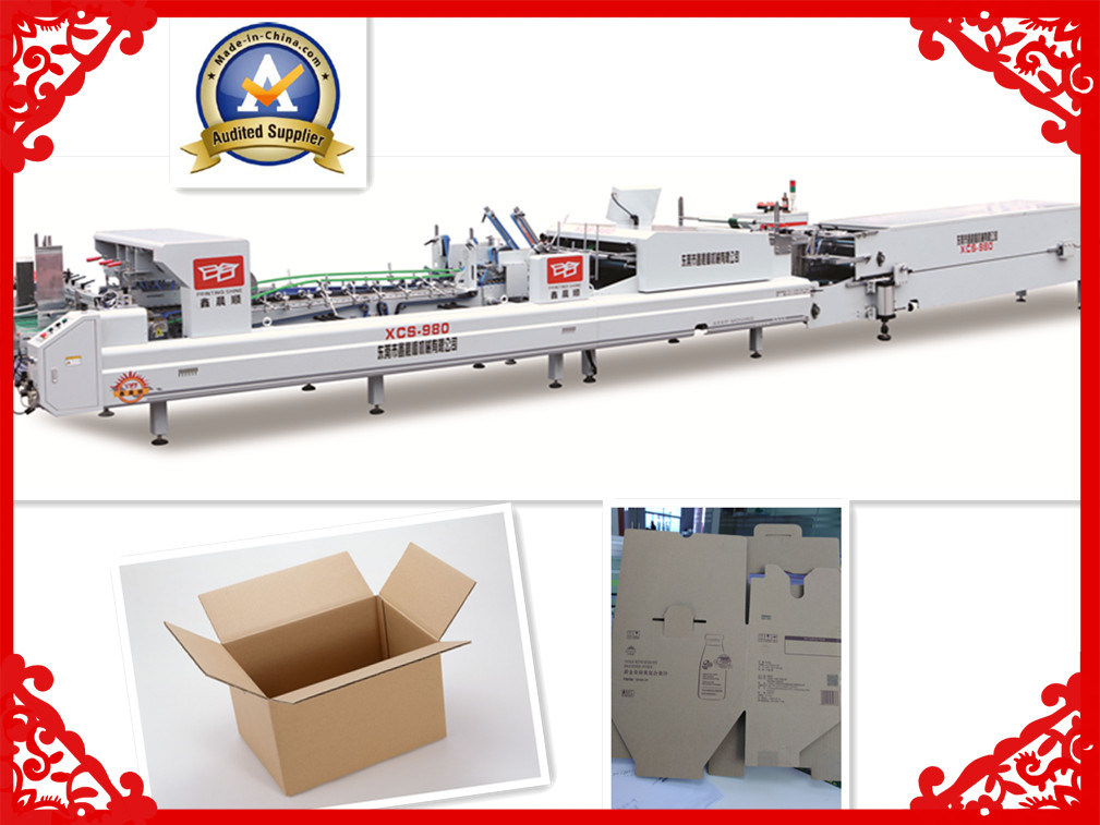 Xcs-980 Folder Gluing Special Use for Corrugated Box