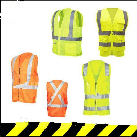 Green Mesh Cheap Safety Hi-Vis Custom Reflective Vest