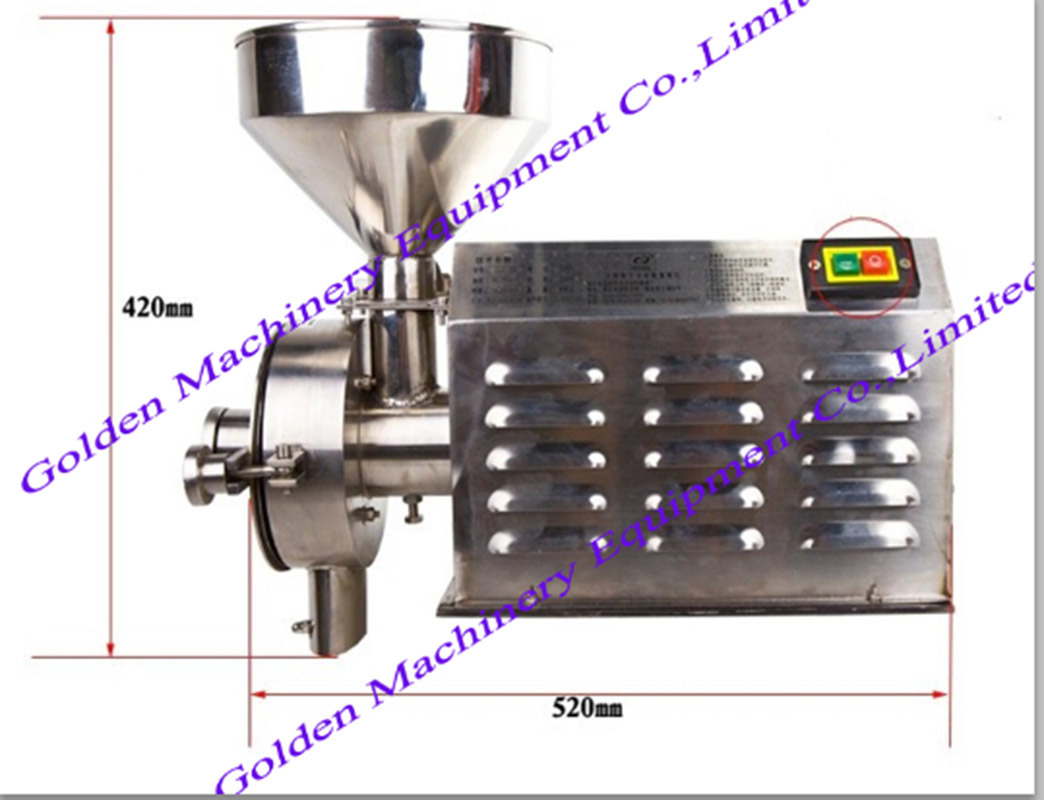 Stainless Steel Grain Coffee Hot Pepper Spice Crusher Grinder