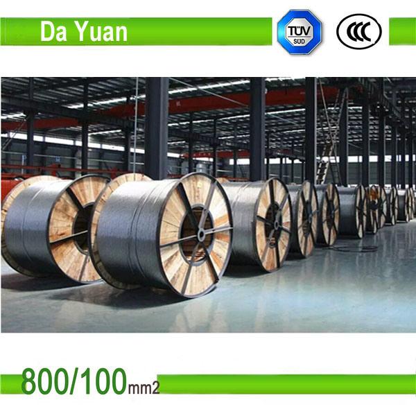 Bare 12/7 95/55 Aluminium Conductor Steel Reinforced ACSR