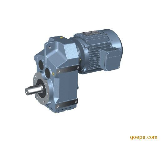 F Series Parallel Shaft Helical Gear Reducer Motor