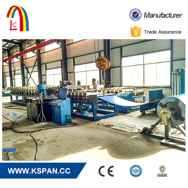 Prefabricated Arch Steel Building Machine