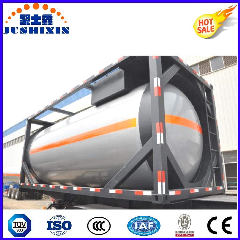 24cbm T75/T50 20FT LPG/LNG Gas Frame Container Tank for The Southeast Asia Market