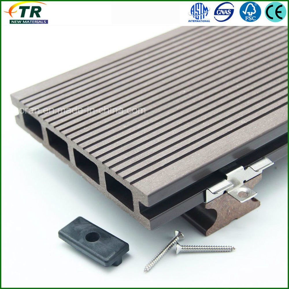 Top Quality Wood Plastic Composite WPC Decking Flooring