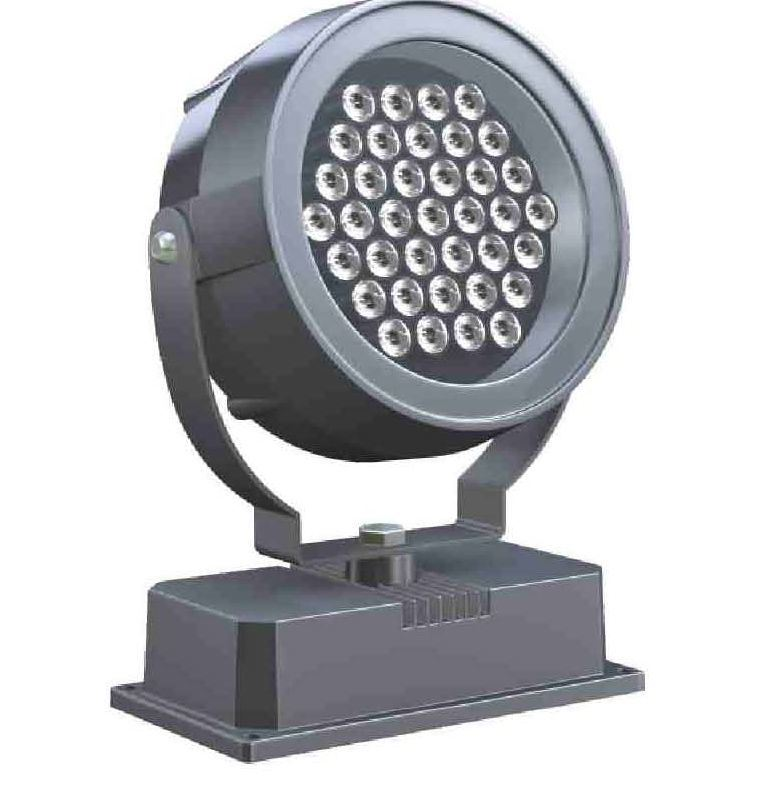 Outdoordoor Light 18W Round Shape RGB LED Wall Washer