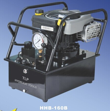 25L Gasoline Engine Driven Hydraulic Pump (HHB-160B)
