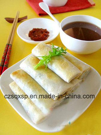 100%Handmade 17g Cylinder-Shaped Vegetable Spring Rolls