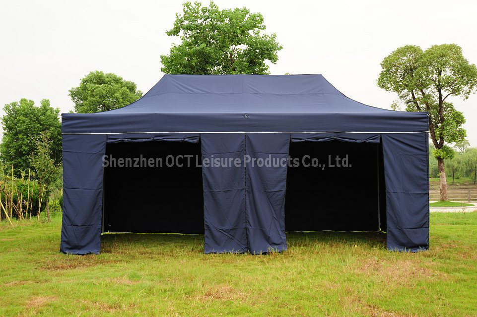 Classic Folding Tent with Blue Color (OCT-FG009B)