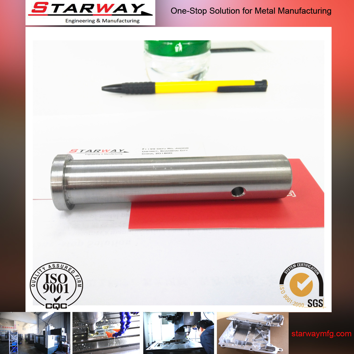 CNC Precision Machining with Stainless Steel