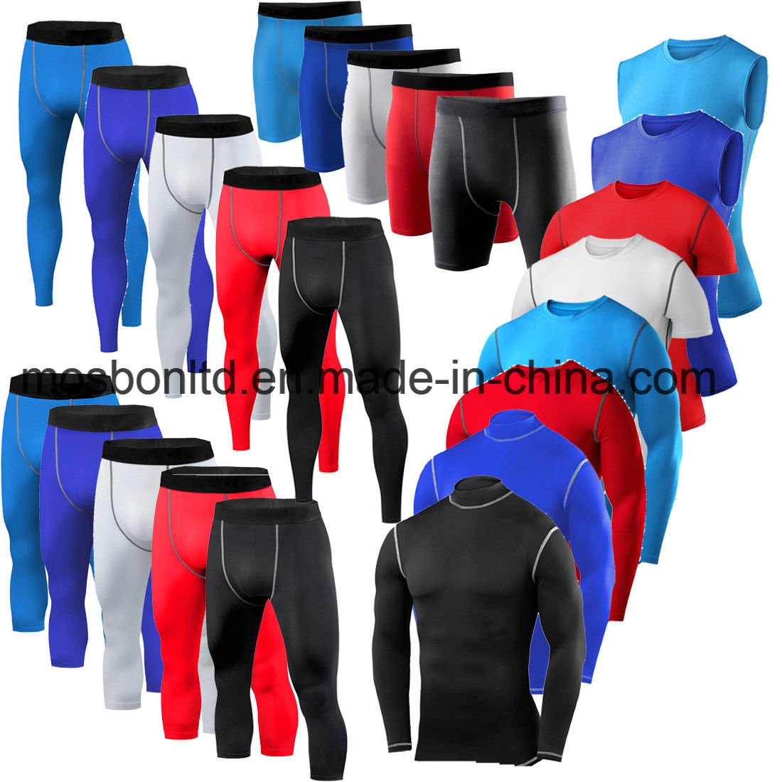 Mens Compression Tops and Pants