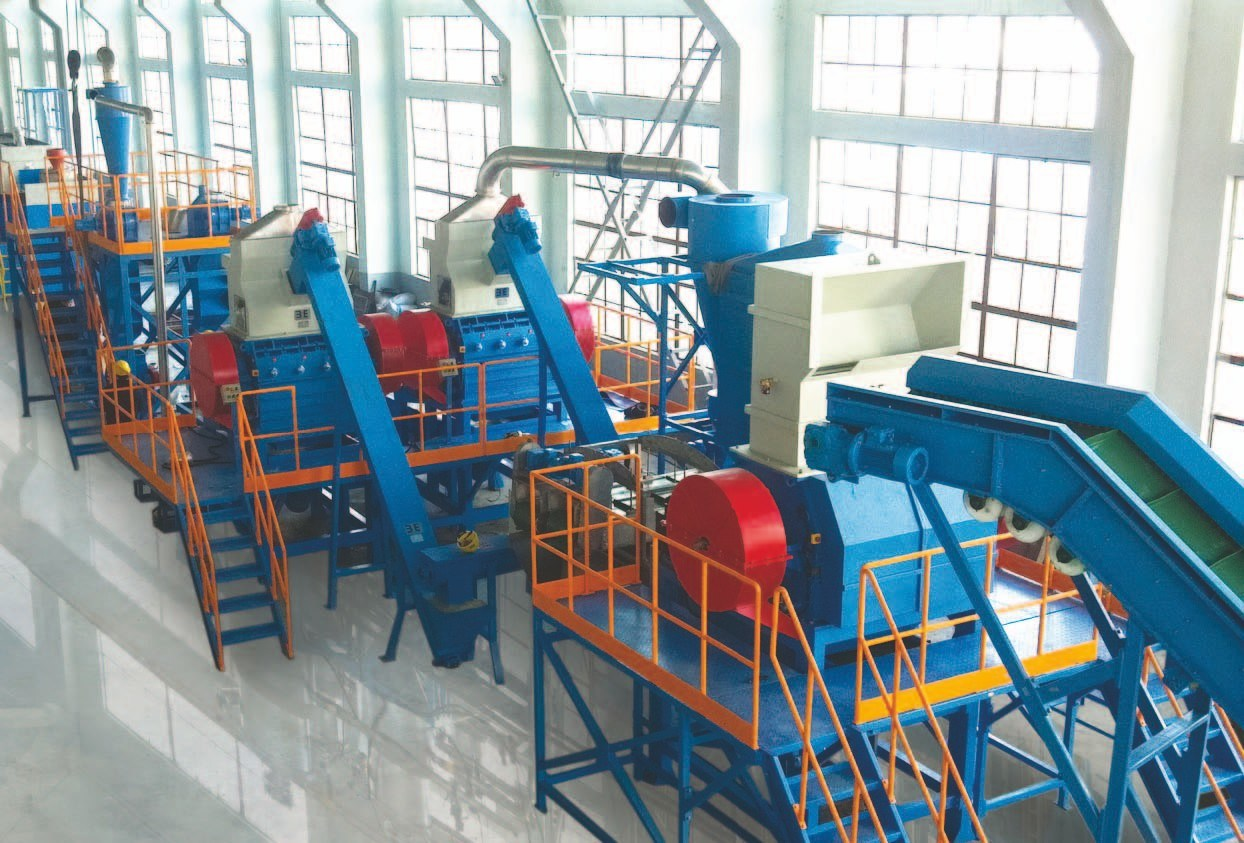 Eco-Friendly & Energy-Saving Scrap Rubber Recycling System (ZX-IV)