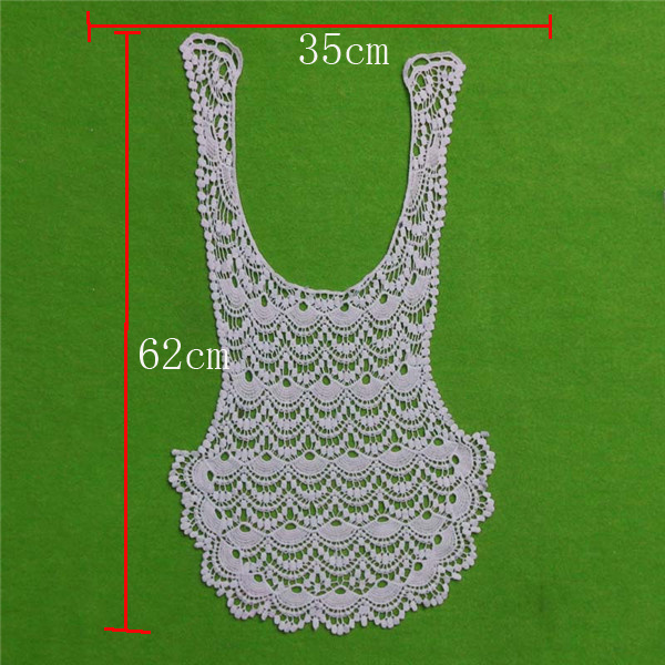 Soft Cotton Lace Collar (cn133)