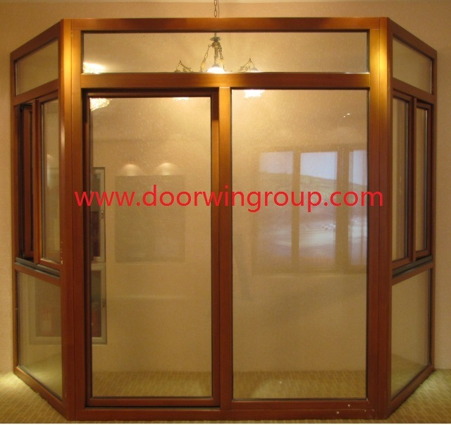 Good Quality Window From Window Manufacturing Companies, American & Australian Style Wood Aluminum Casement Window