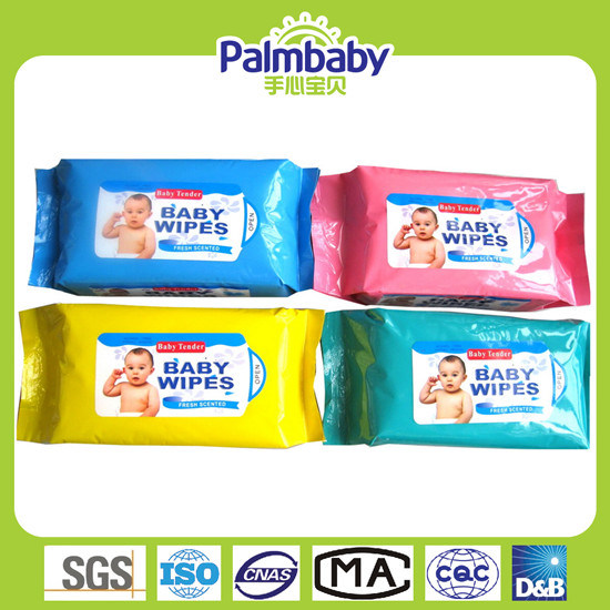 OEM Cleaning Baby Baby Wet Wipe Without Alcohol (BW-003)