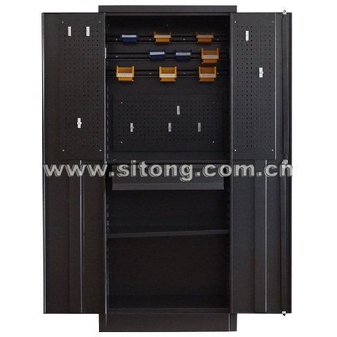 Two-Door Metal Steel Locker Cabinet