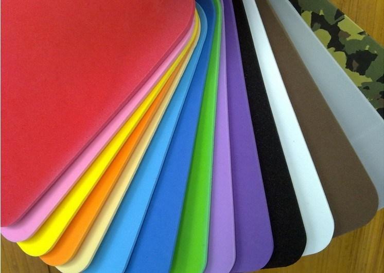 Closed Cell EVA Sponge Color Sheet EVA Foam Sheet for Packaging