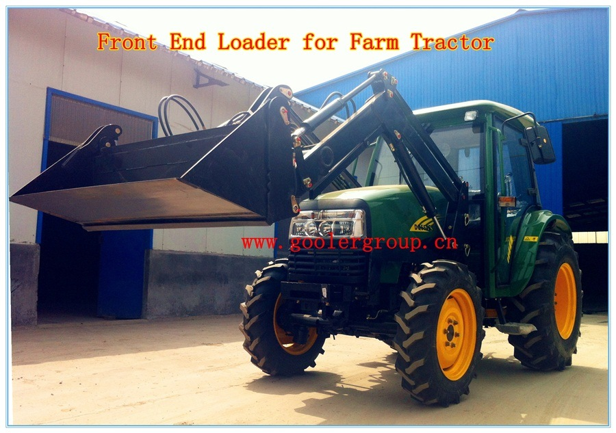 Tractor Front End Loader, 4in1 Assembled Bucket
