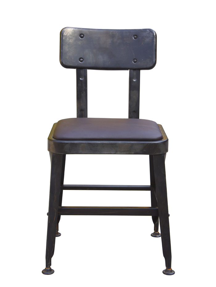Industrial Metal Restaurant Dining Furniture Steel Lyon Chair