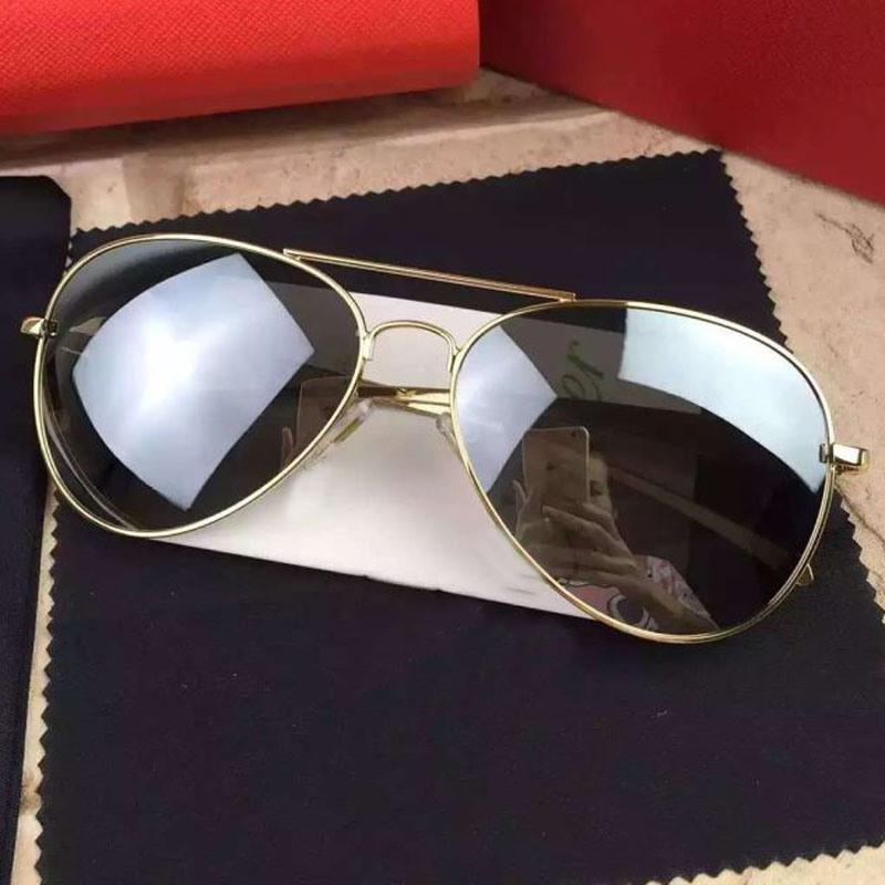 2017 Fashion Mirror Polarized Sunglasses for Man/Woman