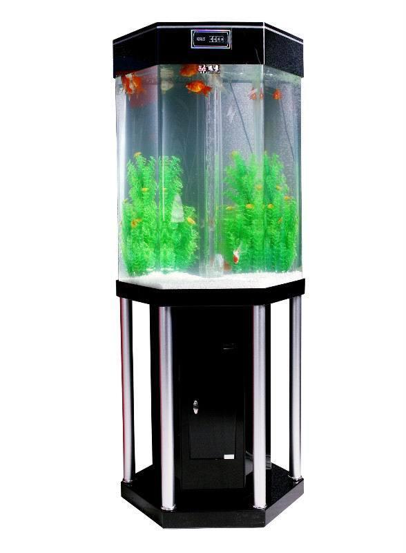 China Acrylic Polygonal Aquarium Decoration Fish Tank