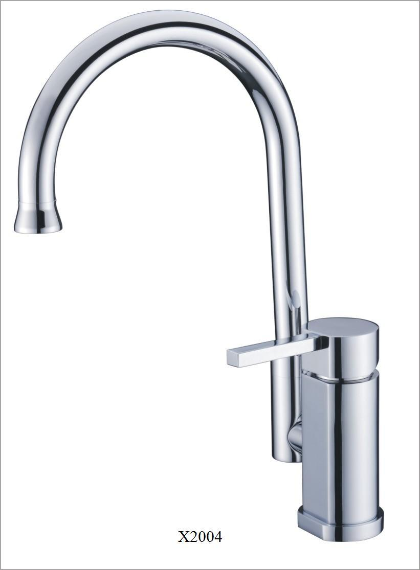 Single Lever Kitchen Faucet (X2004) - China Tap, Tub Faucet