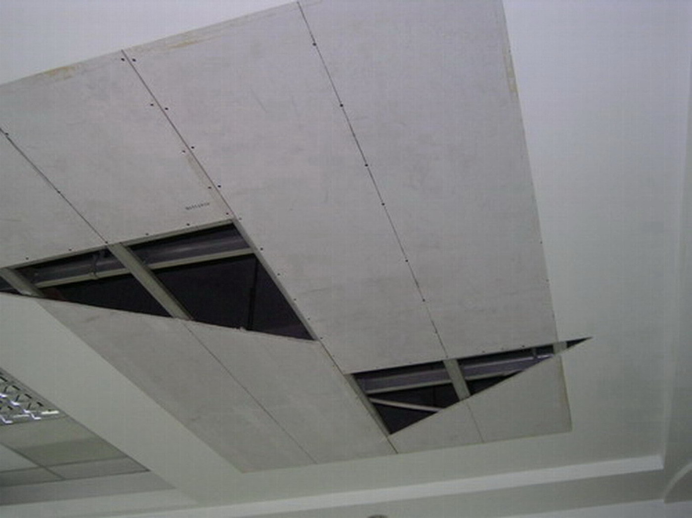 Cement Board Ceiling : Calcium silicate board dry wall system
