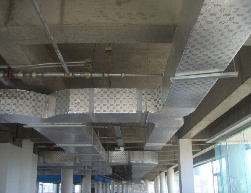 Air Duct System : Hvac pipe insulation method
