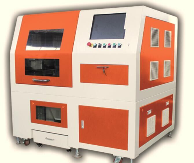 Mini Small Size Metal Fiber Laser Cutting Machine with Safety Cover