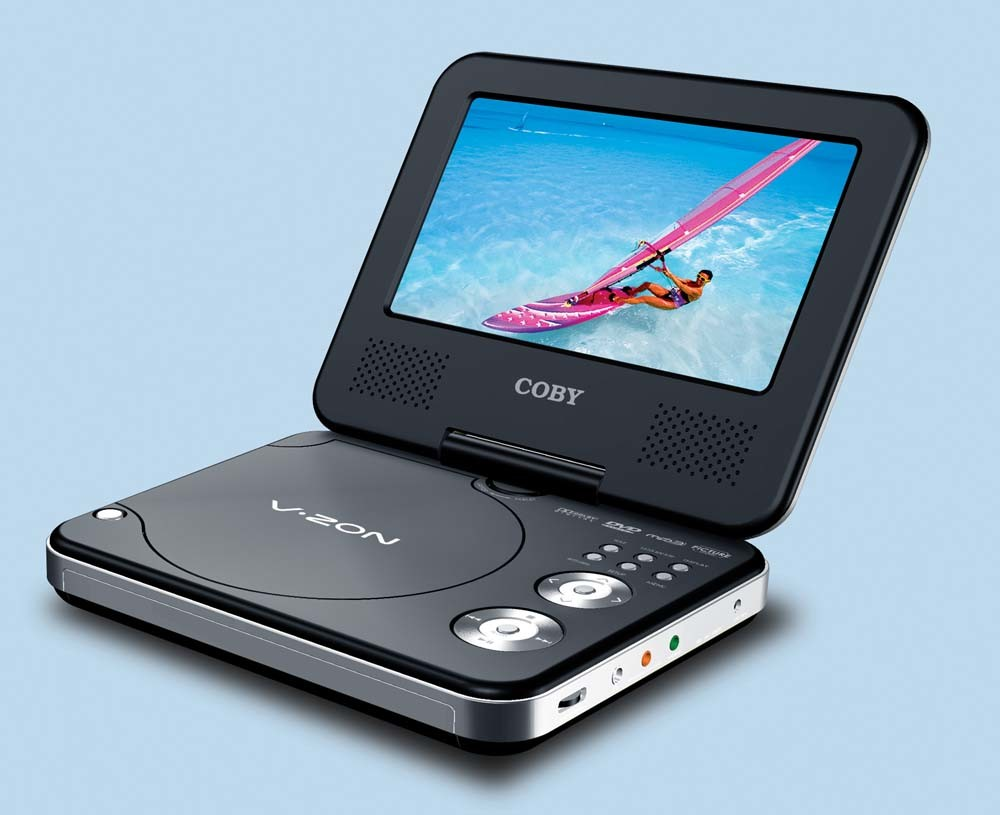 Portable dvd cd mpplayer