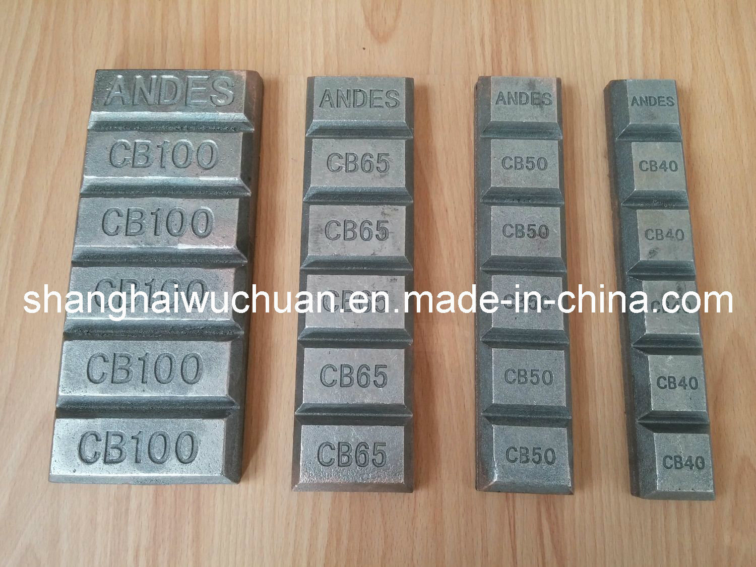 Wear Parts Chocky Bars for Engineering Machine
