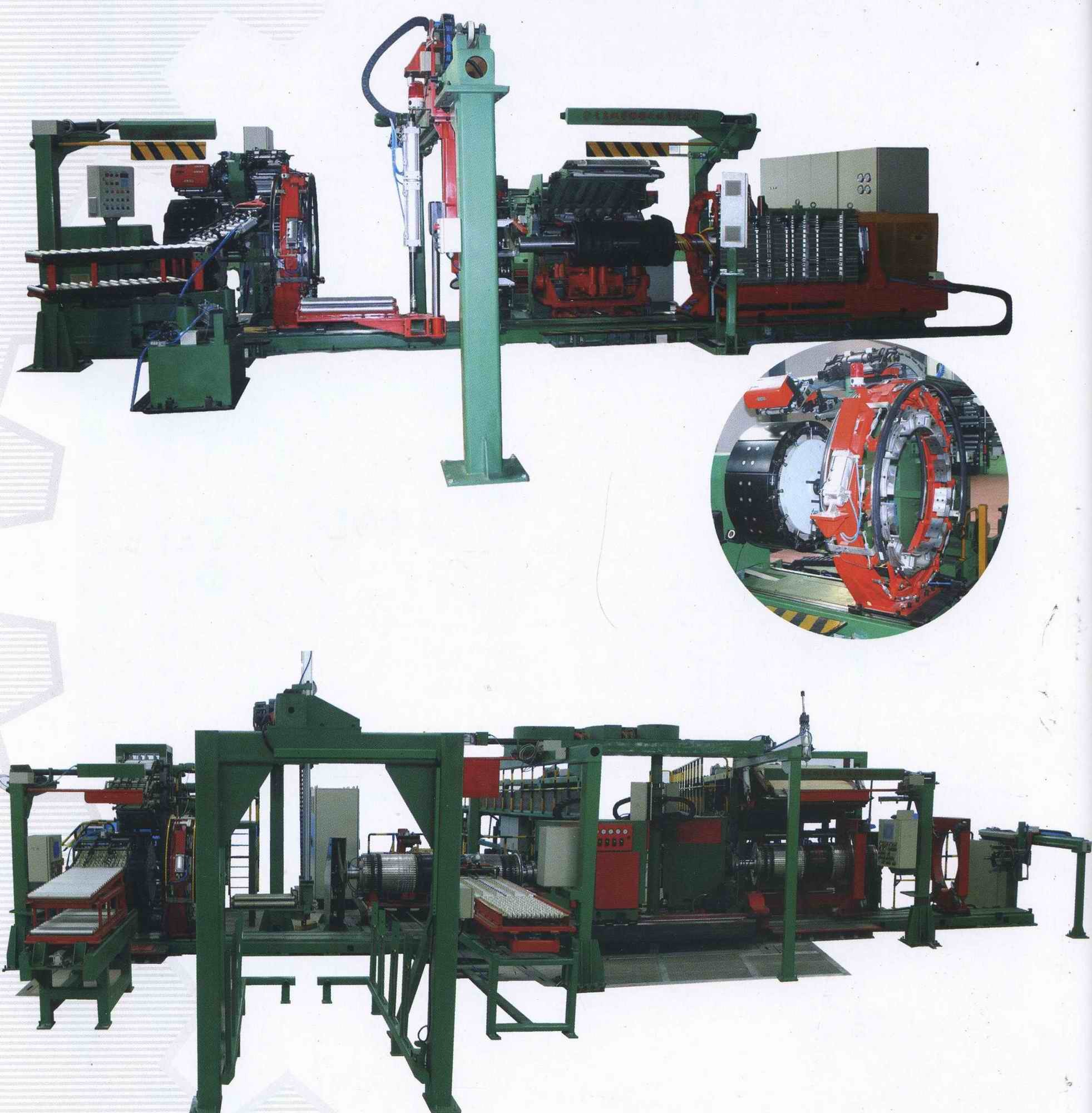 Single Stage TBR Tire Building Machine (LCZ-3G)