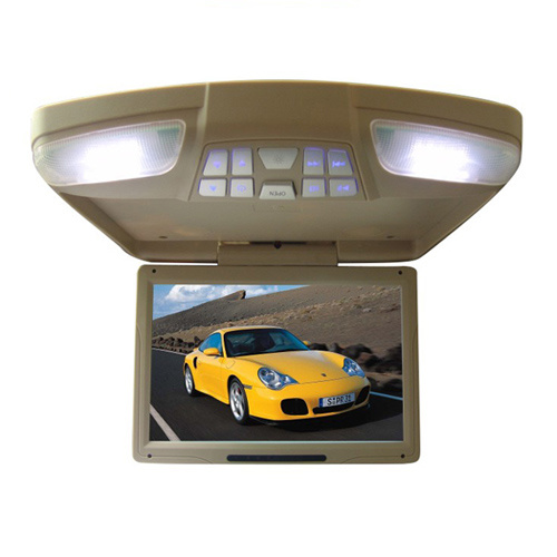 Roof mount car tv