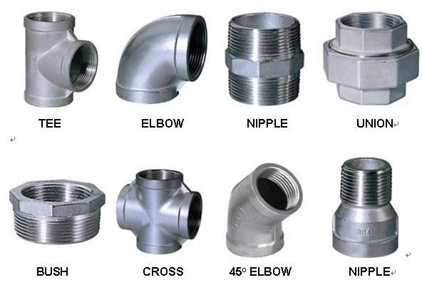 Aluminum pipe threaded