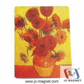 Copper Paper Printing Fridge Magnet