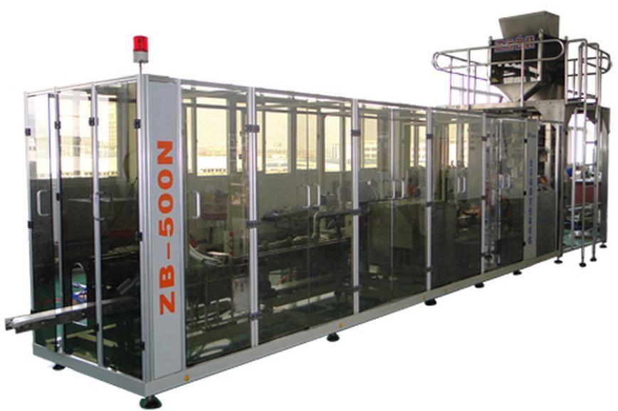 Automatic Vacuum Brick Bag High-Speed Filling Packing Machine (ZB500N2)