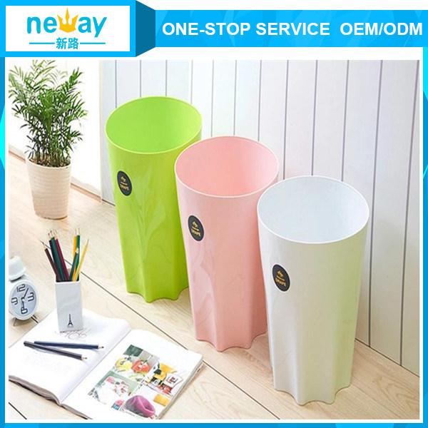 No Cover Fashional Plastic Waste Bin