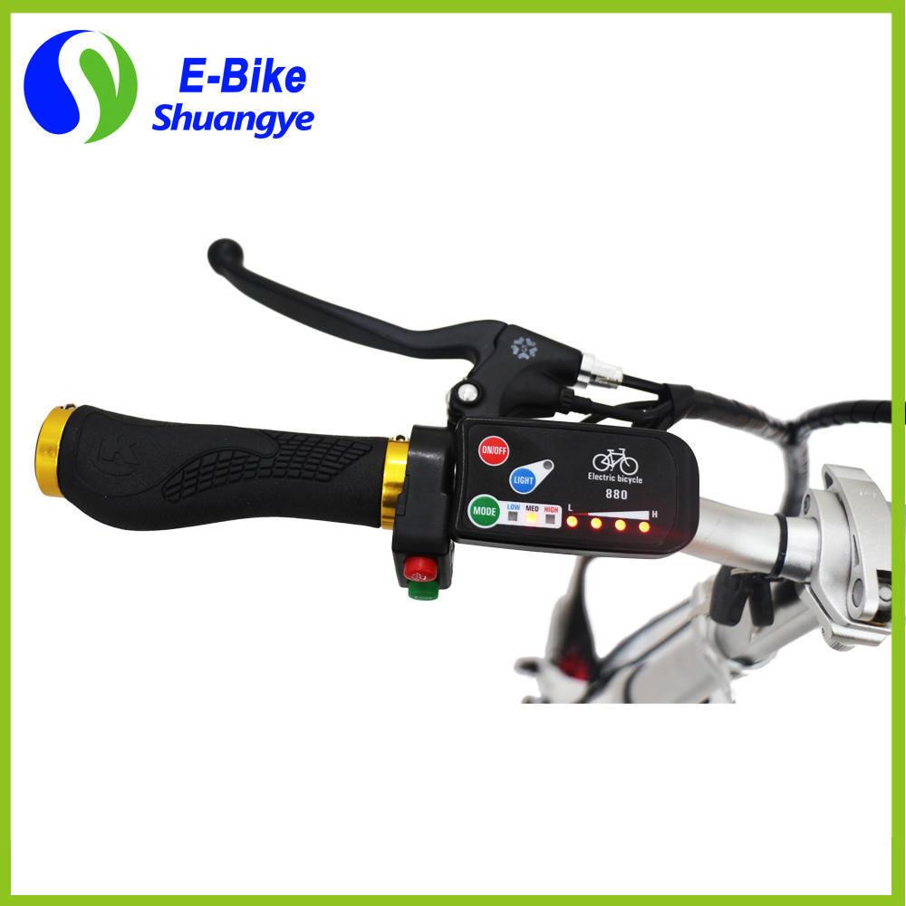 Best Sell 36V Lithium Battery 14 Inch Small Wheel Mini Folding Electric Bike