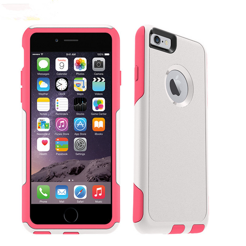 Hot Selling Colorful Defender Commuter Case for iPhone 6s iPhone 6 Plus