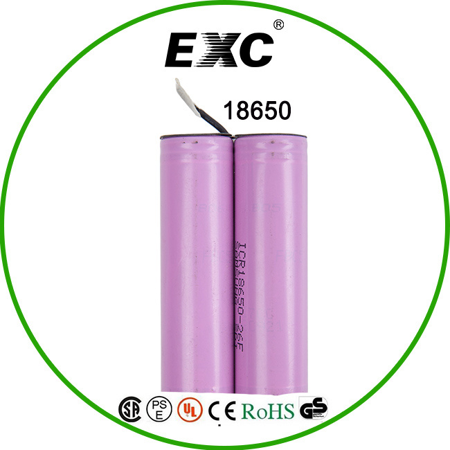 High Quality 18650 Rechargeable Li-ion Battery 3.7V 2000mAh